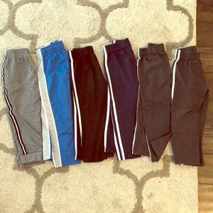 6 pairs toddler pants size 3T